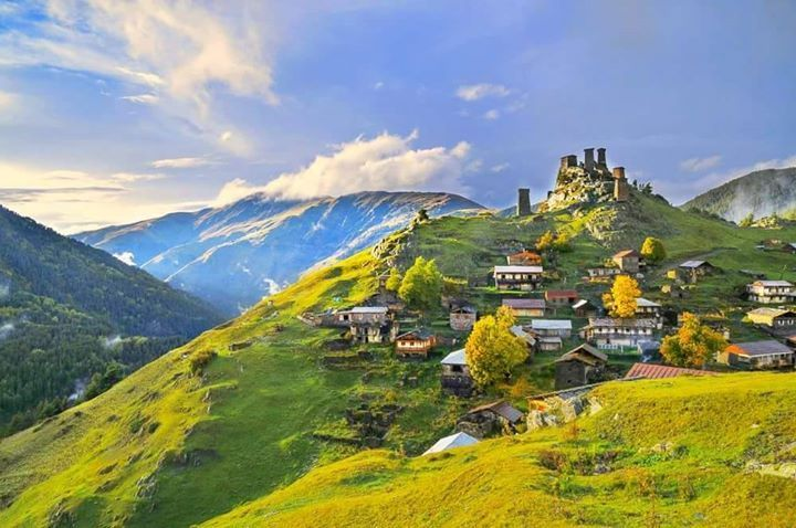 VILLAGIO IN TUSHETI