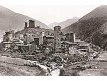Foto di Vittorio Sella, Ushguli