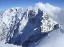 Il monte Shkhara-5201 m.