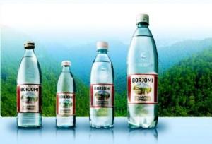 la famosa acqua termale Borjomi